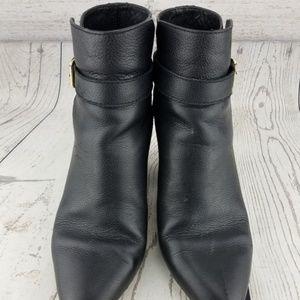 fdb907d0b097 kate spade Shoes - Kate Spade Brandi Boots Black Pebbled Leather BOW